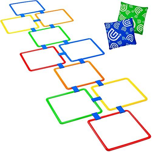 Hopscotch Grid for Pediatric PT