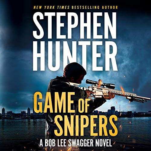 Game of Snipers audiobook cover art
