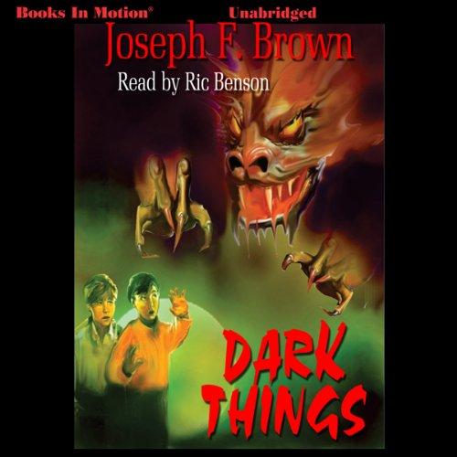 Dark Things audiobook cover art