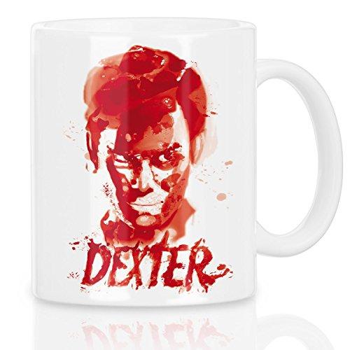 style3 Dexter reguero de sangre Taza con motivo serie asesinato morgan rinity