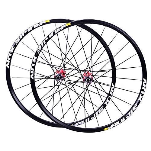 MZPWJD Juego Ruedas Bicicleta 26 27.5 29 Pulgadas MTB Aleaci