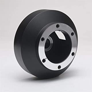 FXF-LGSPQ, Deportes Steering Adaptador del Cubo Cubo de Rueda Corto Corto del Kit del Jefe en Forma for el Subaru WRX 08-14 (Color : Negro)