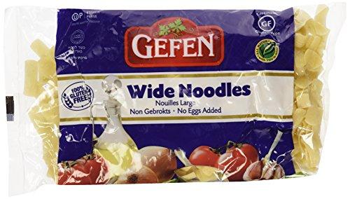 Gefen Gluten Free, Egg Free, Wide Noodles 9oz (2 Pack)