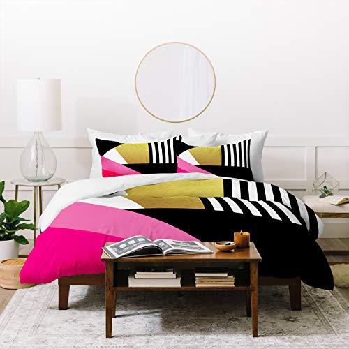 Deny Designs Elisabeth Fredriksson Sweet and Glamorous Duvet Set with Two Pillow Shams, King, Multi