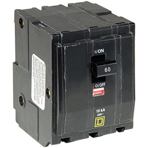 Square D by Schneider Electric QO360CP Circuit Breaker, Black