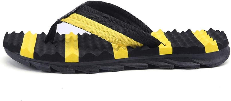 QRETYSG flip flop Men shoes Flat Bath Slippers Summer Sandals Indoor & Outdoor Slippers Casual Men Non-Slip Flip Flops Beach