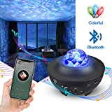 Galaxy Light Projector for Bedroom, Tanbaby Star Light Projector for Bedroom, Sky Projector with Bluetooth Speaker for Party Room Decoration,Best Christmas Birthday Gifts for Men Women Kids Baby.