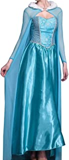 状況たとえシェアエルサ ドレス コスプレ 衣装 大人用 ドレス ハロウィン コスチューム プリンセス コスプレ 衣装 パーティー 宴会 文化祭 変装 大人用 コスチューム