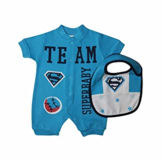 Papillon Superman-Print Short Sleeves Clothing Set for Boys - 2 Pieces