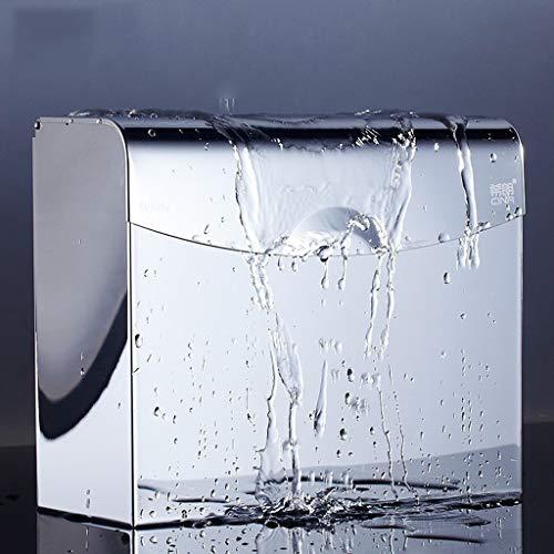 ZH Toilettenpapierhalter an der Wand , 304 aus rostfreiem Stahl zum Bohren von Taschentüchern Toilettenpapierhalter Hygienebehälter Wasserdichter Handbehälterkarton , for Bad und Küche
