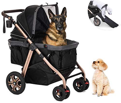 Heavy Duty HPZ Pet Rover Titan-HD Premium Super-Sized Dog/Cat/Pet Stroller