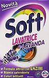 SOFT Detersivo Lavatrice Lavanda, Formula Attiva con Enzimi, 5.77 kg