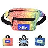 Chillbo Fanny Pack - Fanny Packs for Women and Waist Bags for Men (Rainbow)