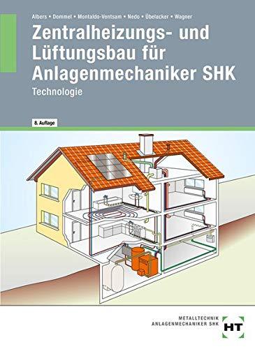 Zentralheizungs- und Lüftungsbau für Anlagenmechaniker SHK: Technologie