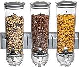 Dispensador de cereales triple de pared