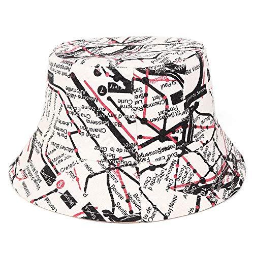 CRCOG Cartas Personalizadas Sombrero afluencia de graffitis Europea y de la Calle de Hip-Hop Desgaste de Doble Cara de Sol ollas Sombrero Americano Visera niños Coreanos CRCOG