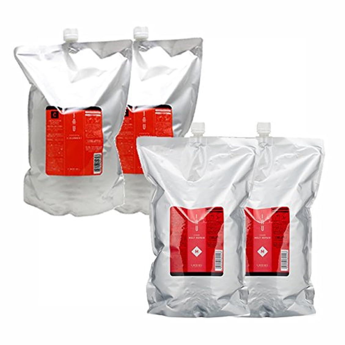 ボトル額滅びるルベル イオ クレンジング ( クリアメント & クリアメント ) + クリーム ( メルトリペア & メルトリペア ) 詰め替え2500mLサイズ 4点セット