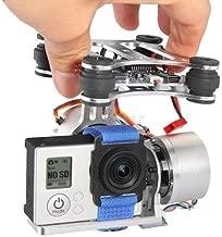Xiangtat CNC FPV 2 Axis Brushless Camera Mount Gimbal w/ Motor & Controller for DJI Phantom F450 F550 X525 Gopro Hero3