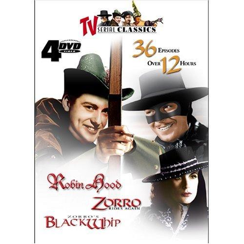 TV San Francisco Mall Boston Mall Serial Classics - Robin Hood Again Ride Zorro Zorro's Black