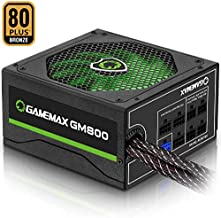 Power Supply 800W 80+ Bronze Semi Modular, GAMEMAX GM-800