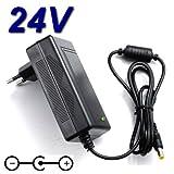 TOP CHARGEUR * Adattatore Caricatore Caricabatteria Alimentatore 24V per Scanner HP ScanJe...