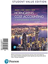 Horngren's Cost Accounting, Student Value Edition