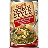 An Italian classic made with ingredients found in kitchens like yours such as meatballs, spinach and pasta cooked in chicken broth Packaged in a 18.6 oz., non-BPA-lined can Easy to get homemade taste on the table fast Easy-to-open pull tab Rich in fl...