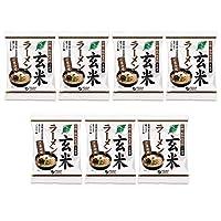 オーサワ ベジ玄米ラーメン(ごまみそ)119g(うち麺80g)×7個                  JANコード:4932828066882