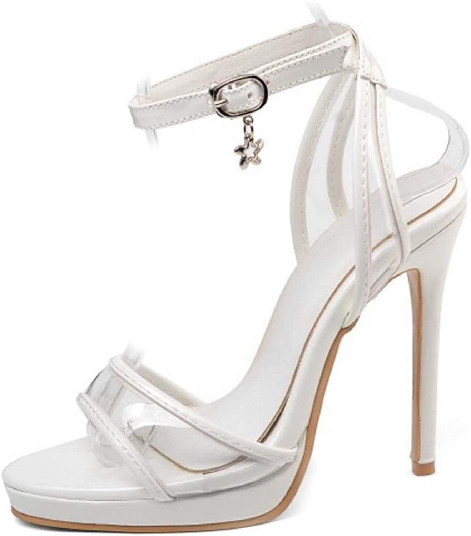 Onewus Women Sexy Sandals with Thin Heel 11.5 cm