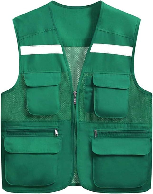 LGQ-HW Outdoor Working Now on sale Safety Vest ,Mesh Overalls Financial sales sale Waistcoat Zi