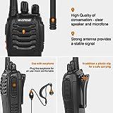 Zoom IMG-2 funingeek walkie talkie ricaricabile lunga