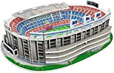 Kick Off- 34010 Puzzle 3D Mini Estadio NOU Camp 2019, Multicolor