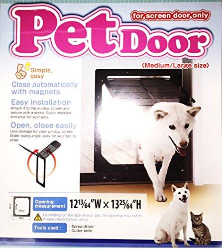 TAKARA INDUSTRY Pet Dog Door for Screens,...