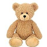 Bearington Bubsy Brown Plush Teddy Bear Stuffed Animal, 16 Inch