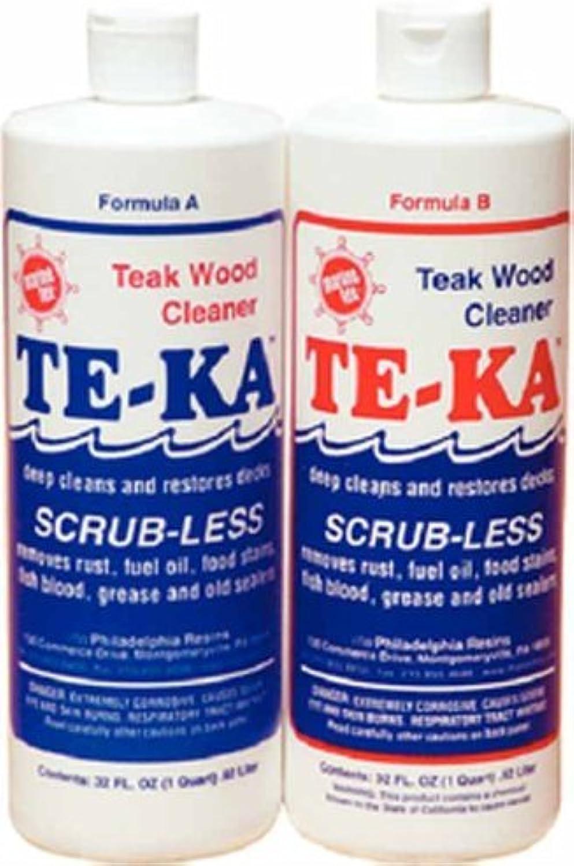 Marine Tex RM340K TeKa Teak Cleaner Quart Kit Made by Marine Tex by Marine Tex