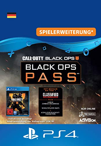 Call of Duty: Black Ops 4 - Black Ops Pass - Season Pass Edition | PS4 Download Code - deutsches Konto