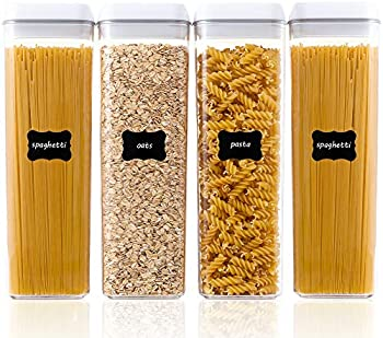4-Pack Vtopmart Airtight Food Storage Containers