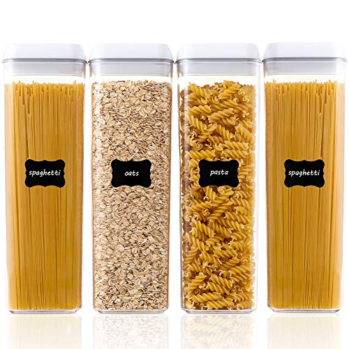 Airtight Food Storage Containers, Spaghetti