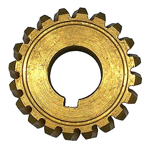 20 Teeth Snowblower Worm Gear for 917-04861 917-0528 717-04449 Craftsman Snowblower Auger Shaft Gear