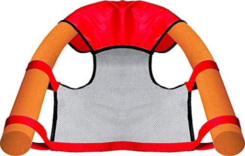 beco - PoolNoodle Compact - PoolNudel Pool Nudel Noodle - Aqua Fitness 160cm x 7,5cm (Wassersitz mit 2 Poolnudeln)