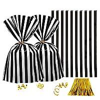 Black White Stripes Cello Bags