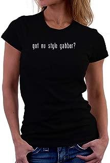 Teeburon Got Nu Style Gabber? Linear Women T-Shirt