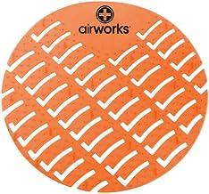 Hospeco – CC-007 Airworks AWUS007-BX Urinal Deodorizer Screen Mango Orange (Box of 10)