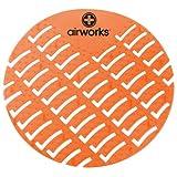 Hospeco - CC-007 Airworks AWUS007-BX Urinal Deodorizer Screen Mango Orange (Box of 10)