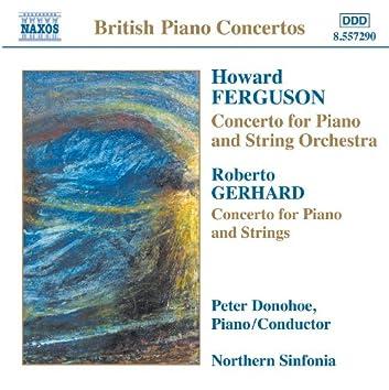 FERGUSON / GERHARD / ROWLEY / DARNTON: Piano Concertos