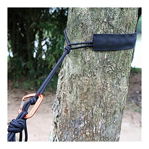 NOLOGO Yg-ct Neue Outdoor-Hängematte gebunden Seilset Abriebfeste Gurtband Riemen gebunden Baumschutz Seilset Außen Werkzeug ohne Seil