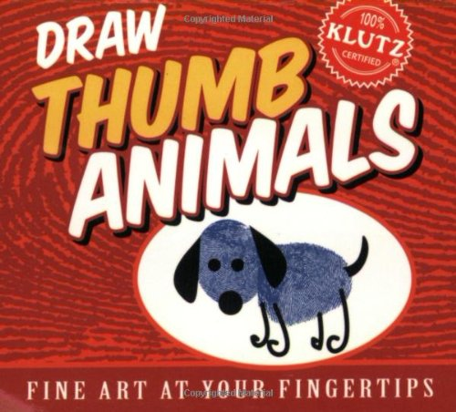 Draw Thumb Animals (Fine Art at Your Fingertips)