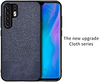 MIEOSEG Cloth Case For Huawei P20 P30 Pro Nova 3 3i 4 Leather Soft Edge Hard PC Cover For Huawei Honor Play 8A 8X 8C Mate 20 Lite Pro Honor Play 8A 5
