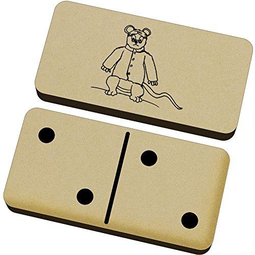 Azeeda 'Böse Ratte' Domino-Spiel und Box (DM00006234)