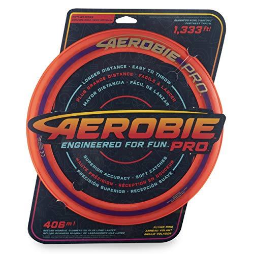 Aerobie 6046388 - Pro Flying Ring Wurfring mit Durchmesser 33 cm, orange